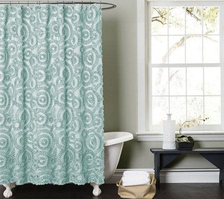 Stella Shower Curtain By Lush Decor