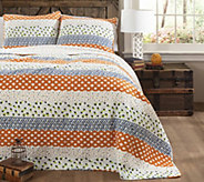 Franny 3-Piece Full/Queen Quilt Set by Lush Decor - H288021