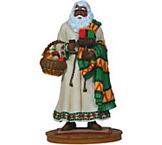 Limited Edition African American Santa Figurineby Pipka - H292921