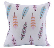 Berkshire Blanket VelvetLoft Cream Feathers Pillow - H296721
