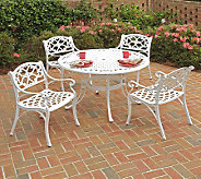 Home Styles Biscayne 5-Piece Outdoor Set w/ ArmChairs - H358321