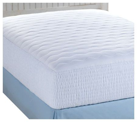 Croscill 400TC Pima Cotton Twin Mattress Pad — QVC