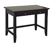 Home Styles Bedford Black Finish Student Desk - H154622