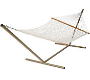 Pawleys Island Deluxe Polyester Rope Hammock - H187222