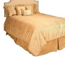 Amadeus Claridge QN SZ 7PC Reversible Comforter Set