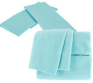 Malden Mills Polarfleece QN Sheet Set w/ Additional Cotton PCs - H202922