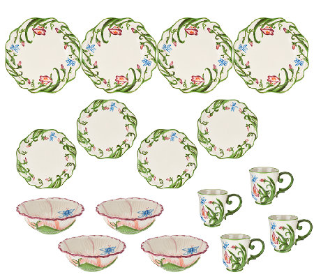 Temp-tations 16-piece Dragonfly Dinnerware Service for 4