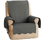 Sure Fit 100Cotton Recliner Furniture Cover Chevron Stitch - H212922