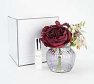 Gift Boxed Floral Arrangement in Vase w Spray by Peony - H214822