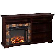 Thatcher Bookshelf Electric Fireplace - H285522