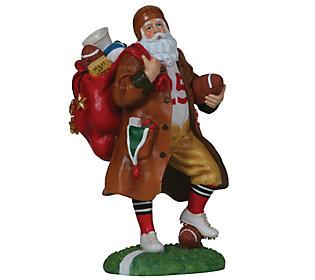 Touchdown Santa Figurine by Pipka