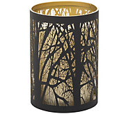 Candle Impressions 5 Flameless Candle with Laser Etching - H291122