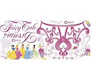 RoomMates Disney Princess Crown Peel & Stick Giant Wall Decal - H291522