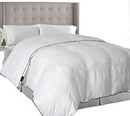 Elle 1000TC Pinstripe Down Alternative F/Q Comforter - H292622