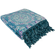 Berkshire Blanket VelvetLoft Vibrant MedallionThrow - H295022