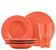 ThermoServ 12-Piece Bistro Dinnerware and Tumbler Set - H295122