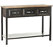 Safavieh Aiden Console Table - Black Walnut Finish - H362722