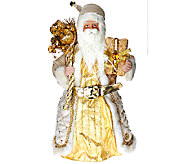 Dennis Basso 16 Elegant Standing or Sitting Santa Figure - H205723