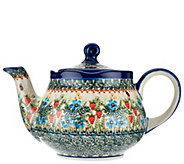 Lidias Polish Pottery Stoneware Teapot Fruti - H206123