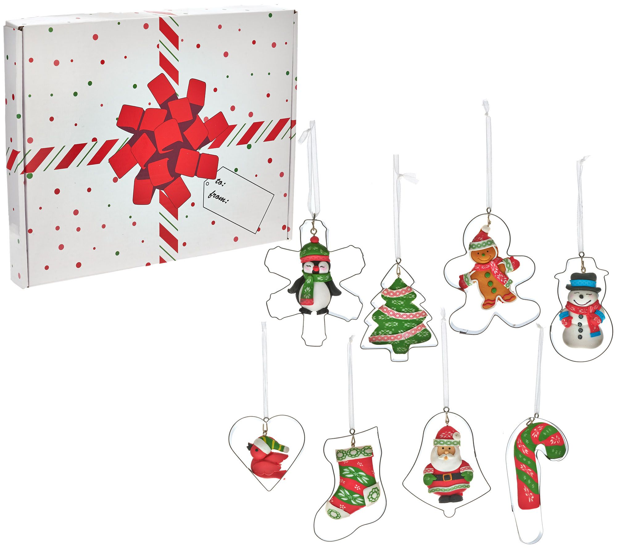 Temp-tations Set of 8 Cookie Cutter Ornaments with Gift Box - Page ...