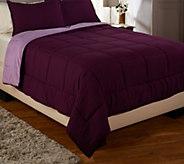 Berkshire Blanket TW Reversible Polarfleece Comforter Set - H206323