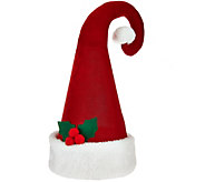 Choice of Holiday Hat Tree Topper by Valerie - H206823