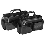 Ready Set Go Set of 2 Bag Organgizers by Lori Greiner - H210023
