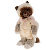 Charlie Bears Collectible Clawdia 11.5 Secret Collection Bear - H212823