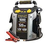 Stanley 500/1000 PEAK AMP Battery Starter, Compressor & Outle - H284023
