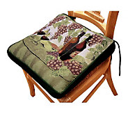 Wine Table 16 x 16 Tapestry Chair Pad - H349323