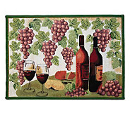 Wine Table 19x27 Tapestry Rug - H349423
