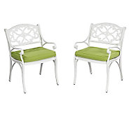 Home Styles Biscayne 5-Piece Outdoor Set w/ ArmChair/Cushions - H358323