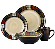 Pfaltzgraff Calico 16-Piece Dinnerware Set - H363623