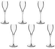 Luigi Bormioli 2.25-oz Magnifico Stemmed Liqueur Glasses - S/6 - H364823