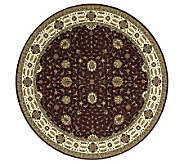 Momeni Persian Garden 8 x 8 Round Power Loomed Wool Rug - H162824