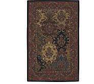 Nourison 36 x 56 Classic Panel Design Handtufted Wool Rug - H178824