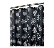 Watershed 2-in-1 Stardust 72x72 Shower Curtain - H184824