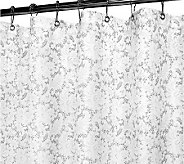 Watershed 2-in-1 Victorian Lace 72x72 Shower Curtain - H186224