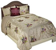 Amadeus Paris Full 5-piece Jacquard Bedspread Set