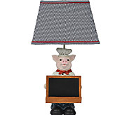 25 Chef Oink Table Lamp by Valerie - H285224
