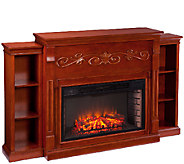 Litchfield Bookcase Electric Fireplace - H285524