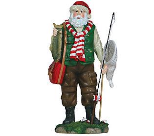 Fisherman Santa Figurine by Pipka