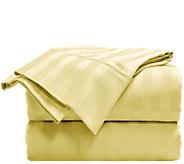Elle 100Cotton Damask Stripe Twin Sheet Set - H290924