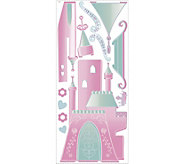 RoomMates Disney Princess Castle w/ Letters Wall Decal - H291524