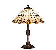 Tiffany-Style Nouveau Cone Table Lamp - H159725