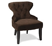 Avenue Six Curves Hourglass Chair - Chocolate - H175725