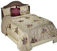 Amadues Paris Queen 5 Piece Jacquard Bedspread Set