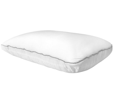 Backjoy sleep sound comfort hybrid pillow h208225 qvccom for Comfort pillows for sleep