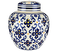 7.5 Illuminated Porcelain Ginger Jar by Valerie - H208625
