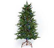 ED On Air Santas Best 5 Natural Rustic Spruce Tree by Ellen DeGeneres - H209425